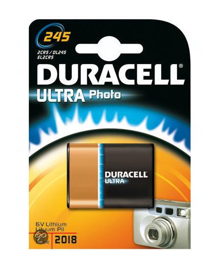 Baterie Duracell 2CR5, EL2CR5, DL245, 6V, 1500mAh, blistr 1 ks
