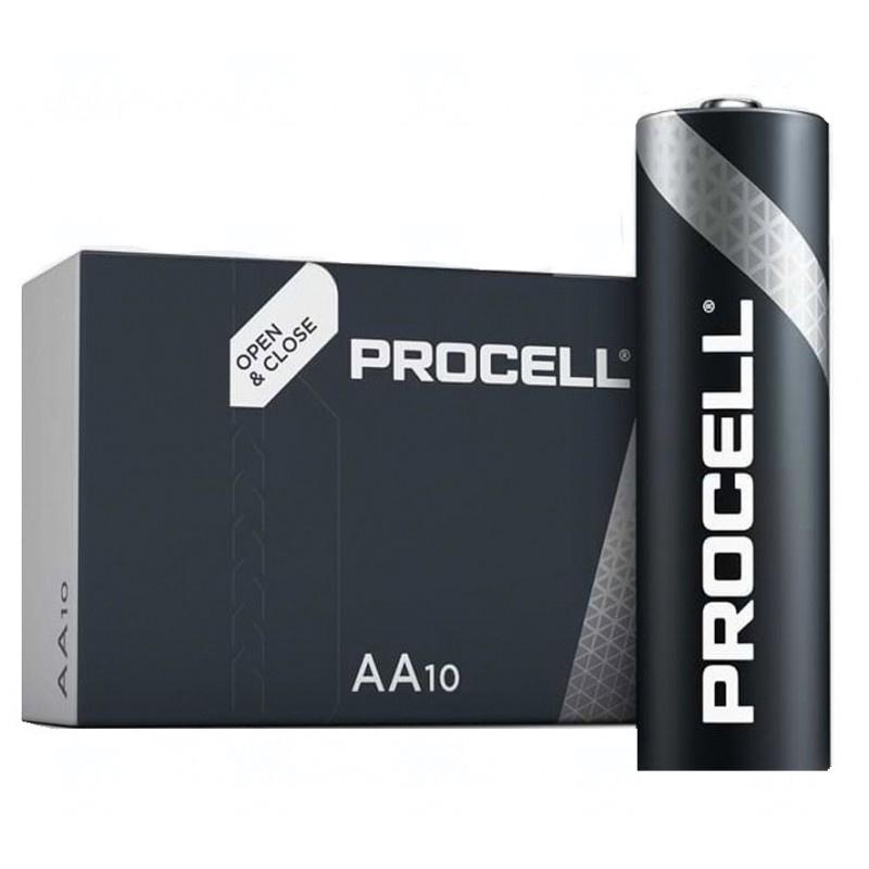 Baterie Duracell Procell AA, LR6, tužková, 1,5V, 10 ks