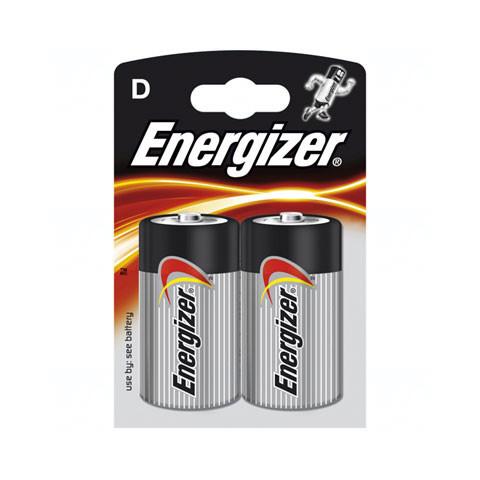 Baterie Energizer Base D, LR20, velké mono, AM1, XL, BA3030, MN1300, 813, E95, LR20N, 13A, 1,5V, blistr 2 ks