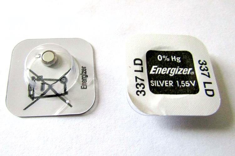 Baterie Energizer 337, V337, LR416, SB-A5, D337, SR416SW, GP337, SP337, 280-75, 1,55V, blistr 1 ks, silver oxide