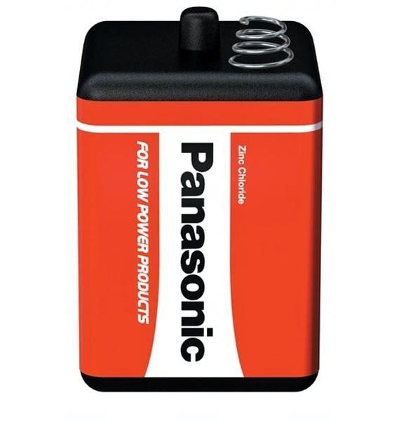 Baterie Panasonic 4R25, 4R25X, V430, 4AS2, PJ996, EN-529, MN/PC908, Zinc Chloride, 6V, blistr 1 ks
