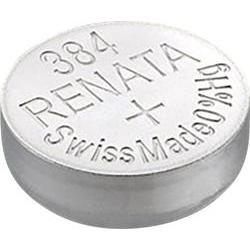 Baterie Renata 384, 392, LR41, AG3, G3, LR736, GP392, V384, V392, 1,5V, SR41W, SR41, blistr 1 ks, silver oxide