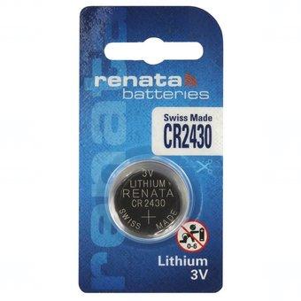 Baterie Renata CR2430, DL2430, BR2430, KL2430, LM2430, ECR2430, 5011LC, 3V, blistr 1 ks