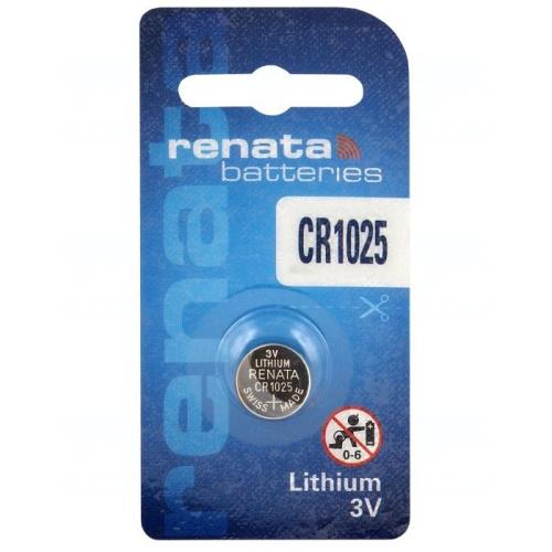 Baterie Renata CR1025, DL1025, BR1025, KL1025, LM1025, 5033LC, 3V, blistr 1 ks