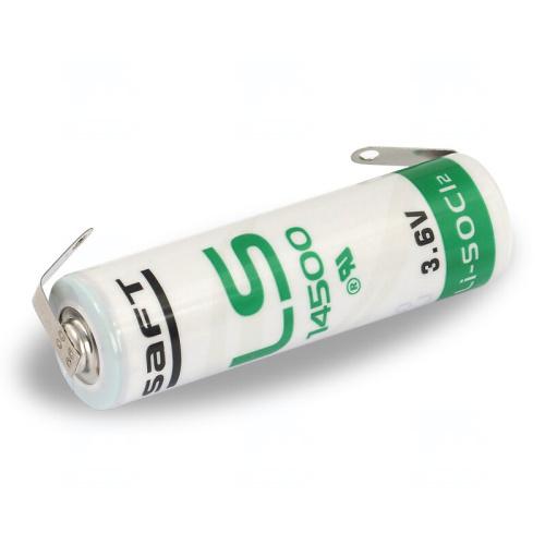 Baterie Saft LS14500 CNR AA 3,6V 2600mAh Lithium s vývody
