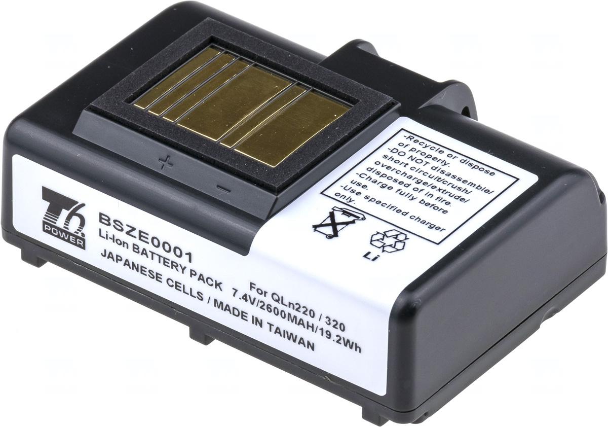 Baterie T6 power P1023901, P1051378, P1023901-LF, P1031365-021, P1031365-025, P1031365-059