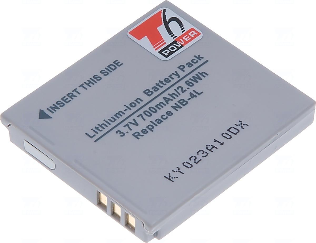 Baterie T6 power NB-4L