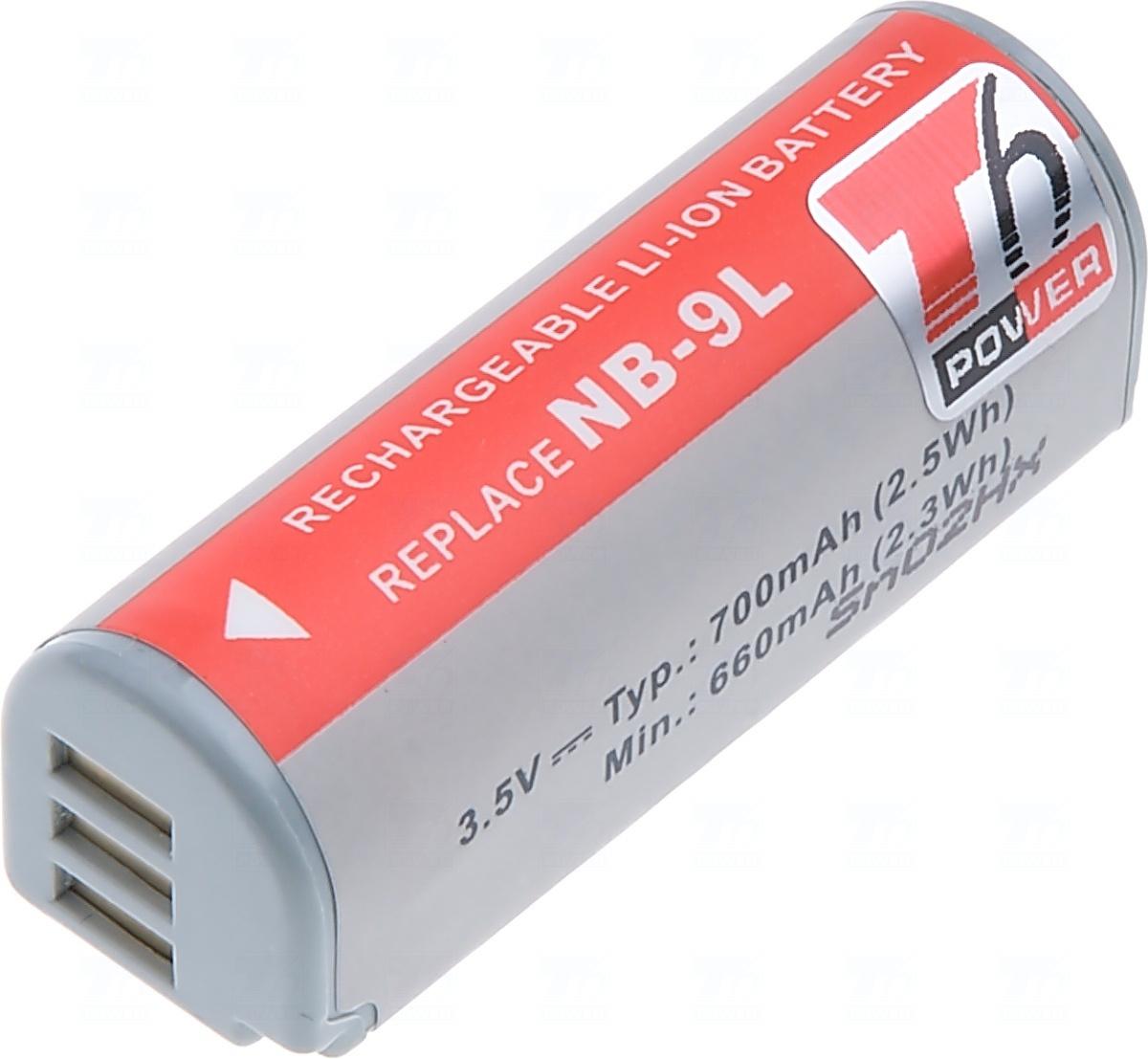 Baterie T6 power NB-9L