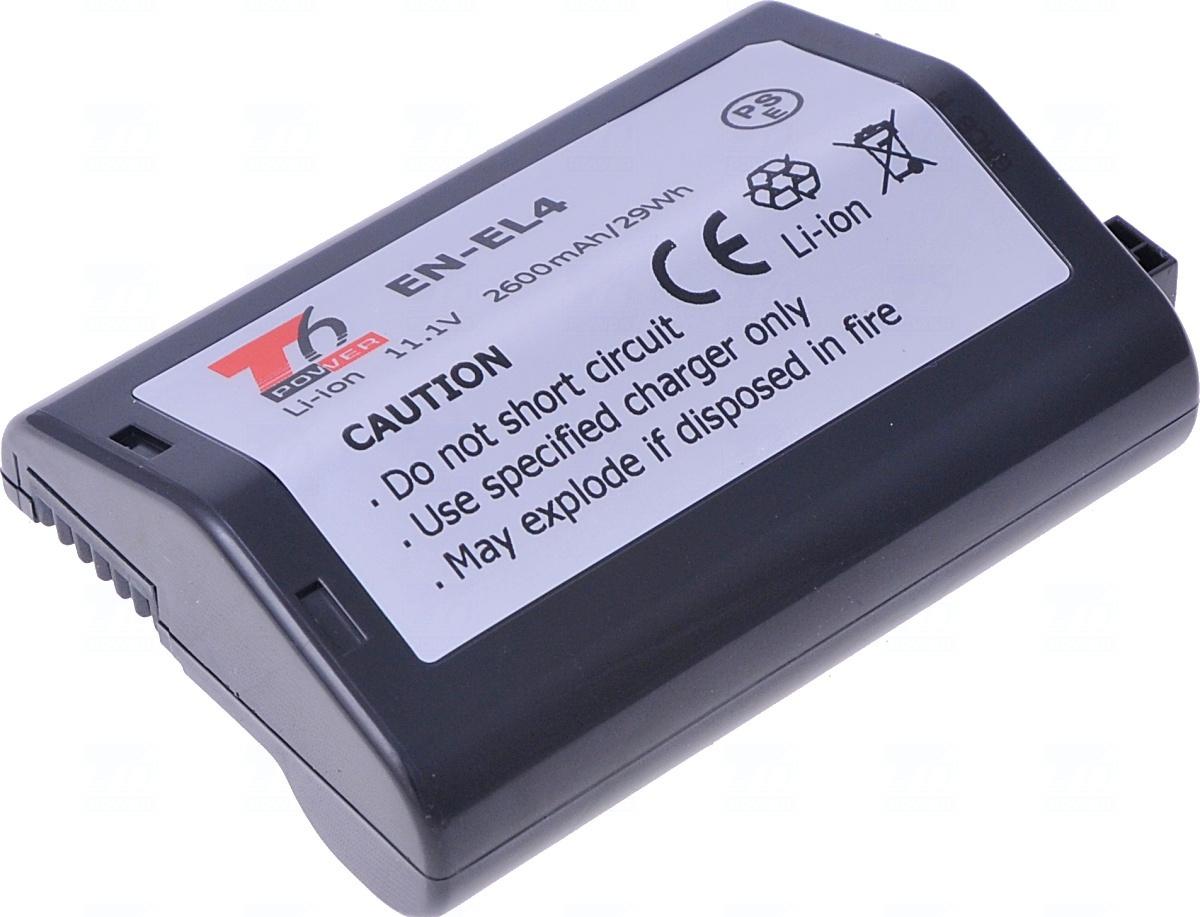 Baterie T6 power EN-EL4, EN-EL4a, EN-EL4e