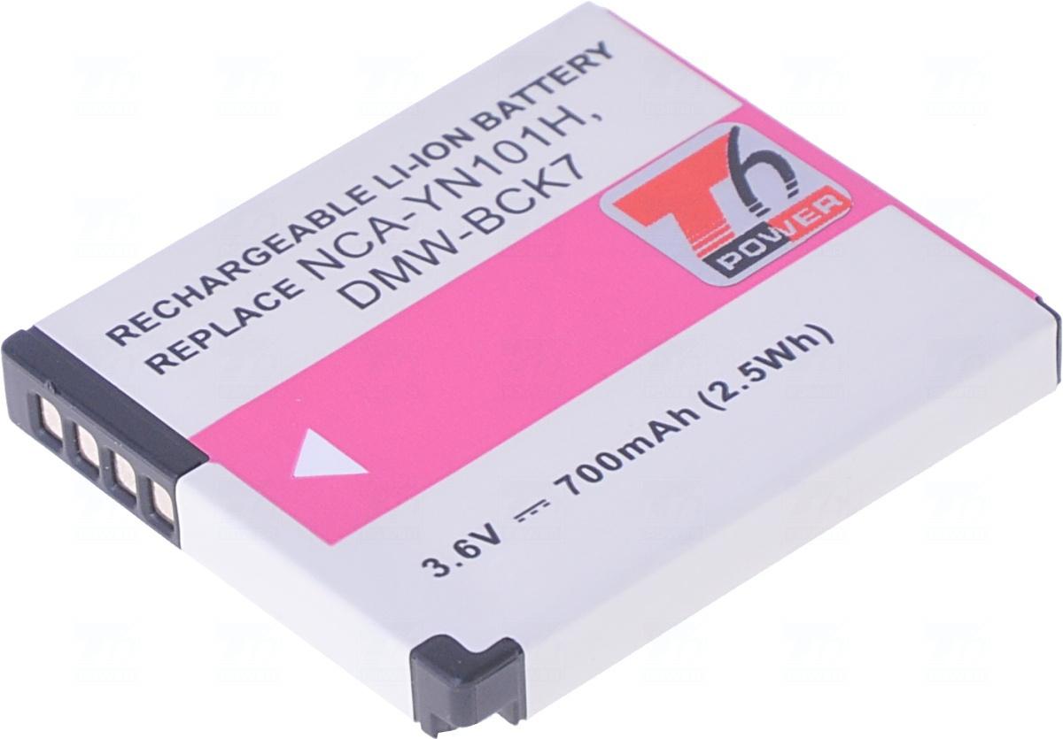 Baterie T6 power DMW-BCK7, DMW-BCK7E, NCA-YN101H, NCA-YN101F, NCA-YN101G