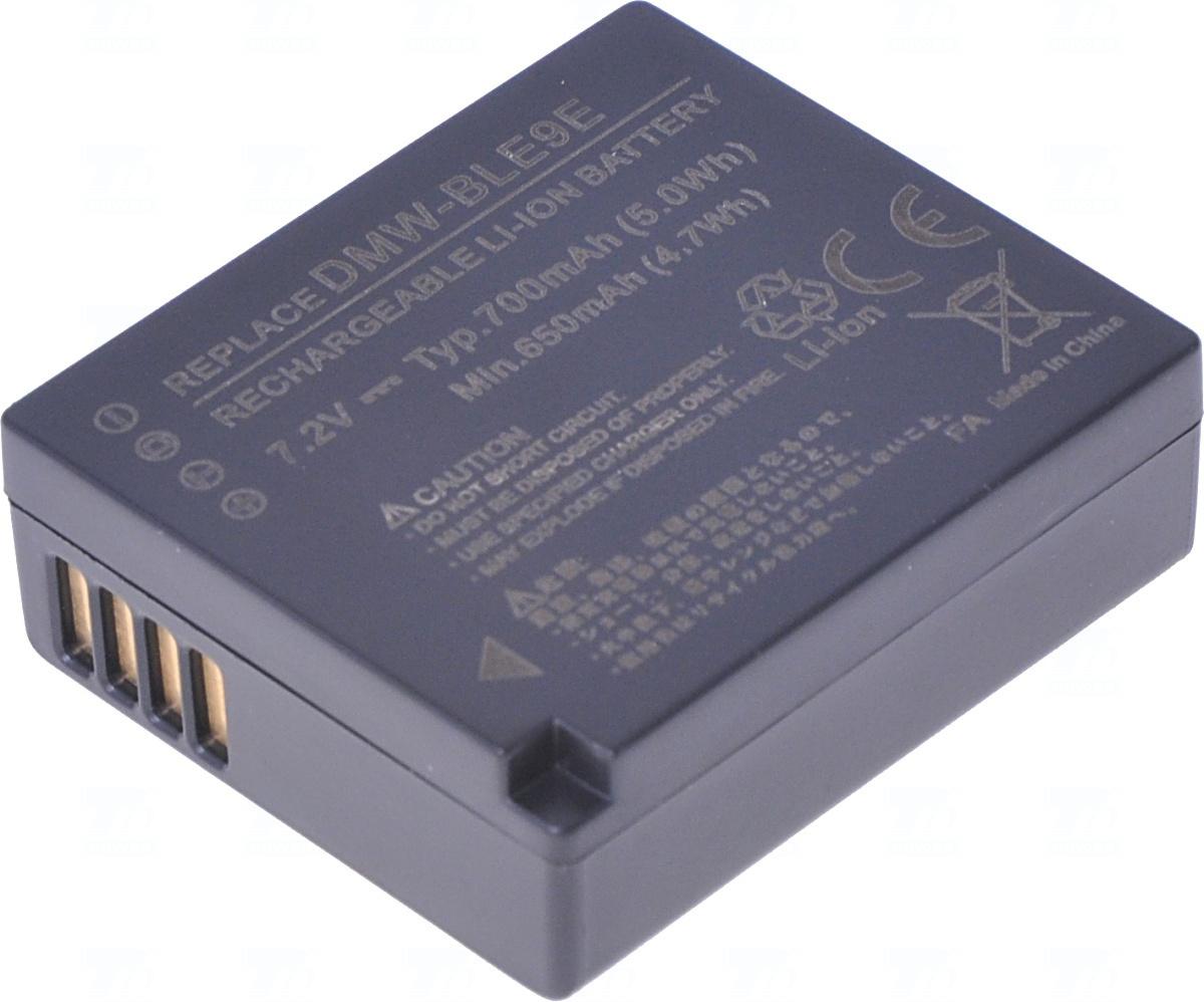 Baterie T6 power DMW-BLE9, DMW-BLE9E, DMW-BLG10, DMW-BLG10E, BP-DC15