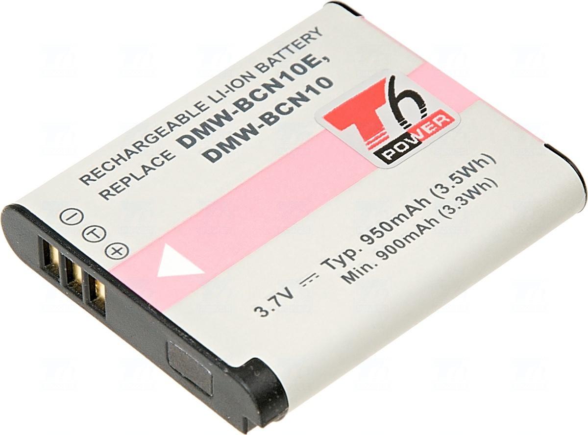 Baterie T6 power DMW-BCN10, DMW-BCN10E