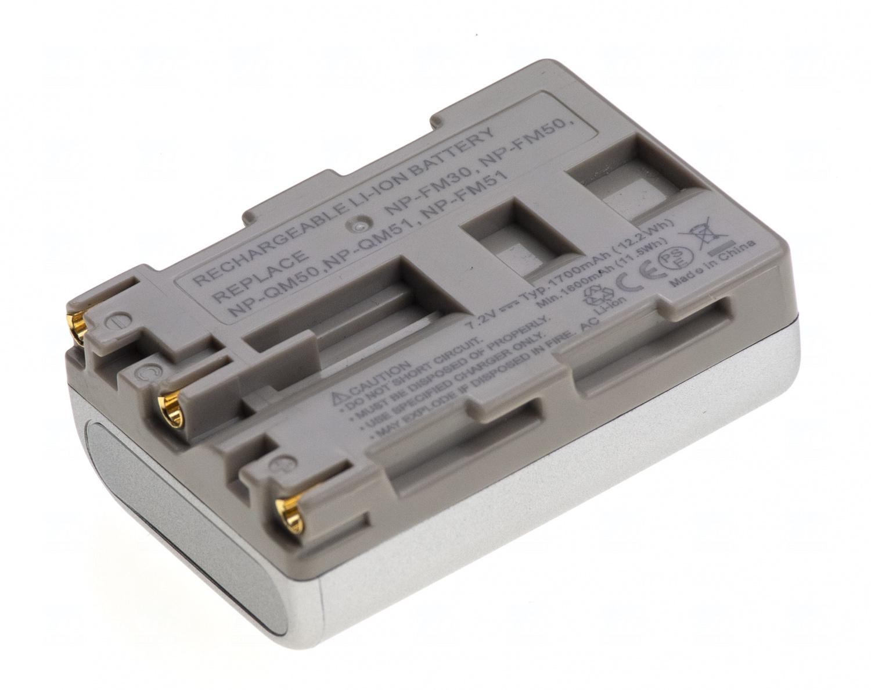Baterie T6 power NP-FM50, NP-FM51, NP-FM30, NP-QM50, NP-QM51