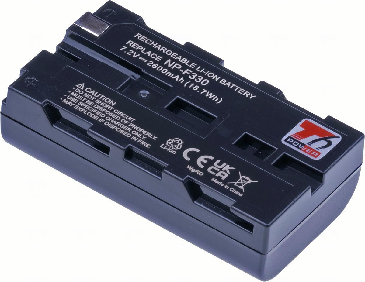 Baterie T6 power NP-F530, NP-F330, NP-F550, NP-F570, šedá