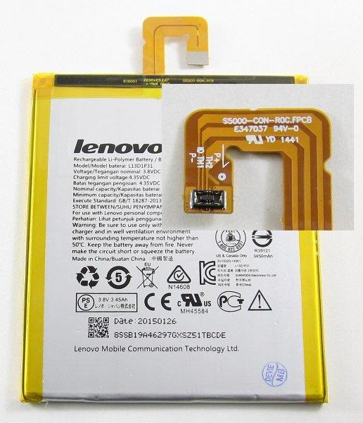 Baterie originál Lenovo L13D1P31, Li-pol, 3550mAh, bulk