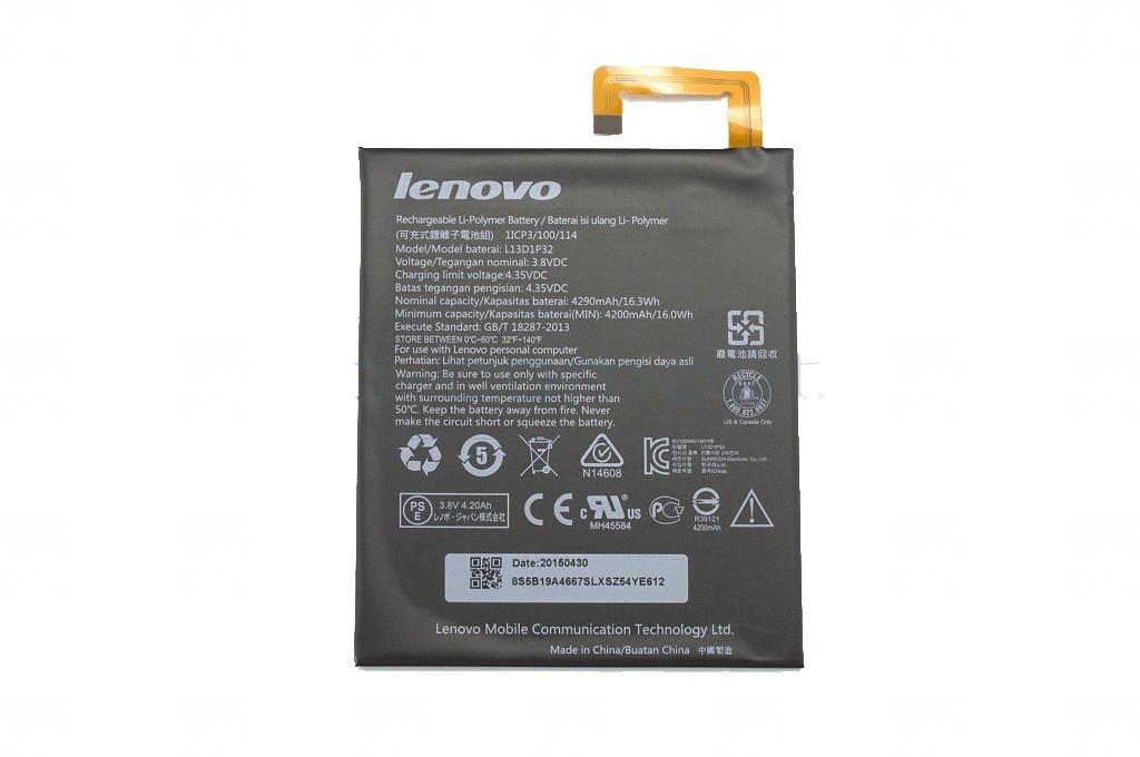 Baterie originál Lenovo L13D1P32, Li-Pol, 4290mAh, 16,3Wh, bulk