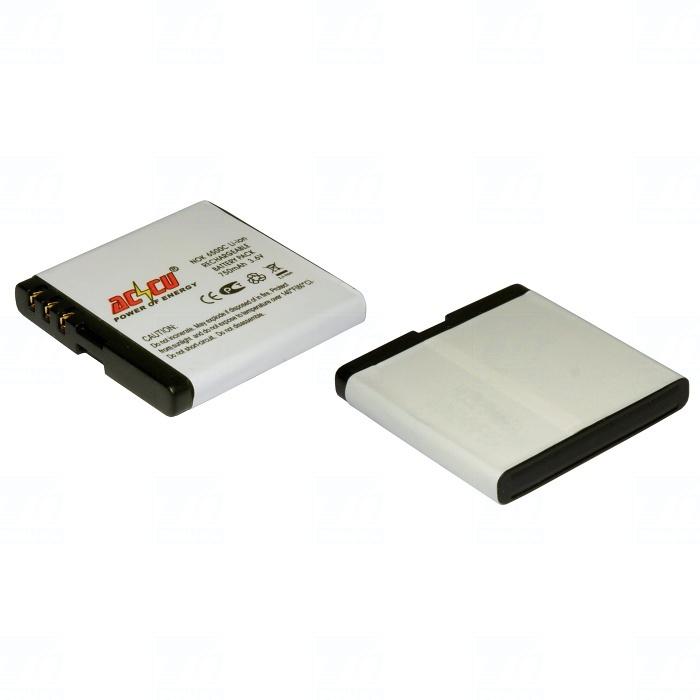 Baterie Accu pro Nokia 6500, 6500 Classic, 5610, 7900 Prism, Li-ion, 750mAh