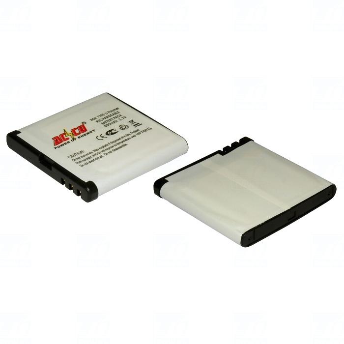 Baterie Accu pro Nokia 6500 Slide, 6220 classic, 8600, 5700, 7390, 6290, 6110 Navigator, Li-ion, 900mAh