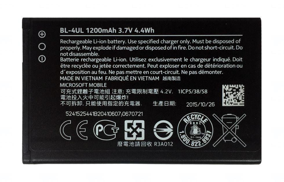 Baterie originál Nokia Lumia 225, 230, Li-ion, 1200mAh, bulk