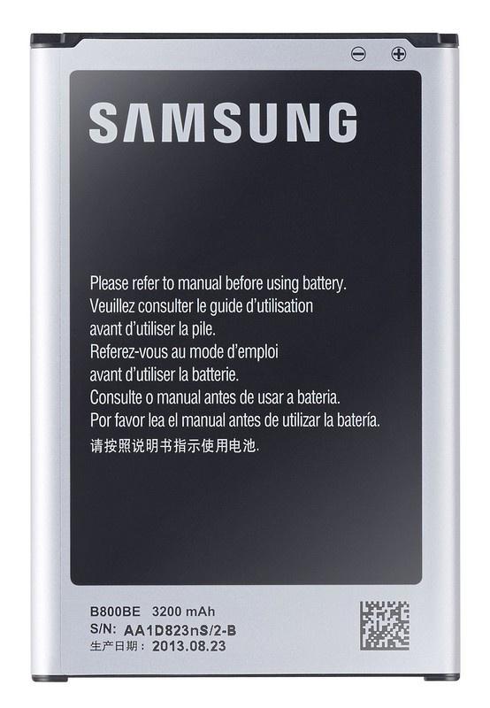 Baterie originál Samsung EB-B800BE, B800BE, bulk