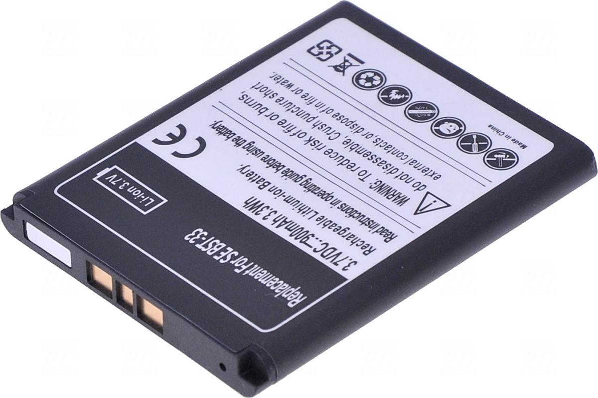 Baterie T6 power BST33, BST-33, CBA-0001003, 900mAh, Li-ion