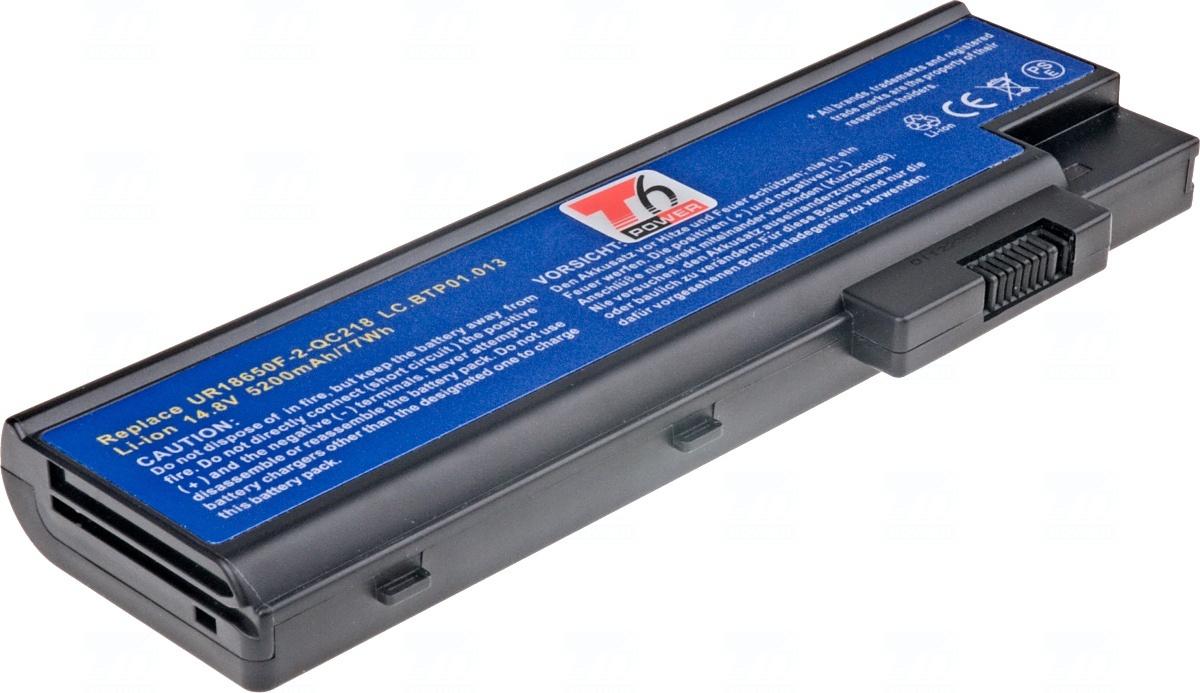 Baterie T6 power 4UR18650F-2-QC218, LC.BTP01.013, LC.BTP01.014, BT.00803.018, BTP-BCA1, LIP-6198QUPC