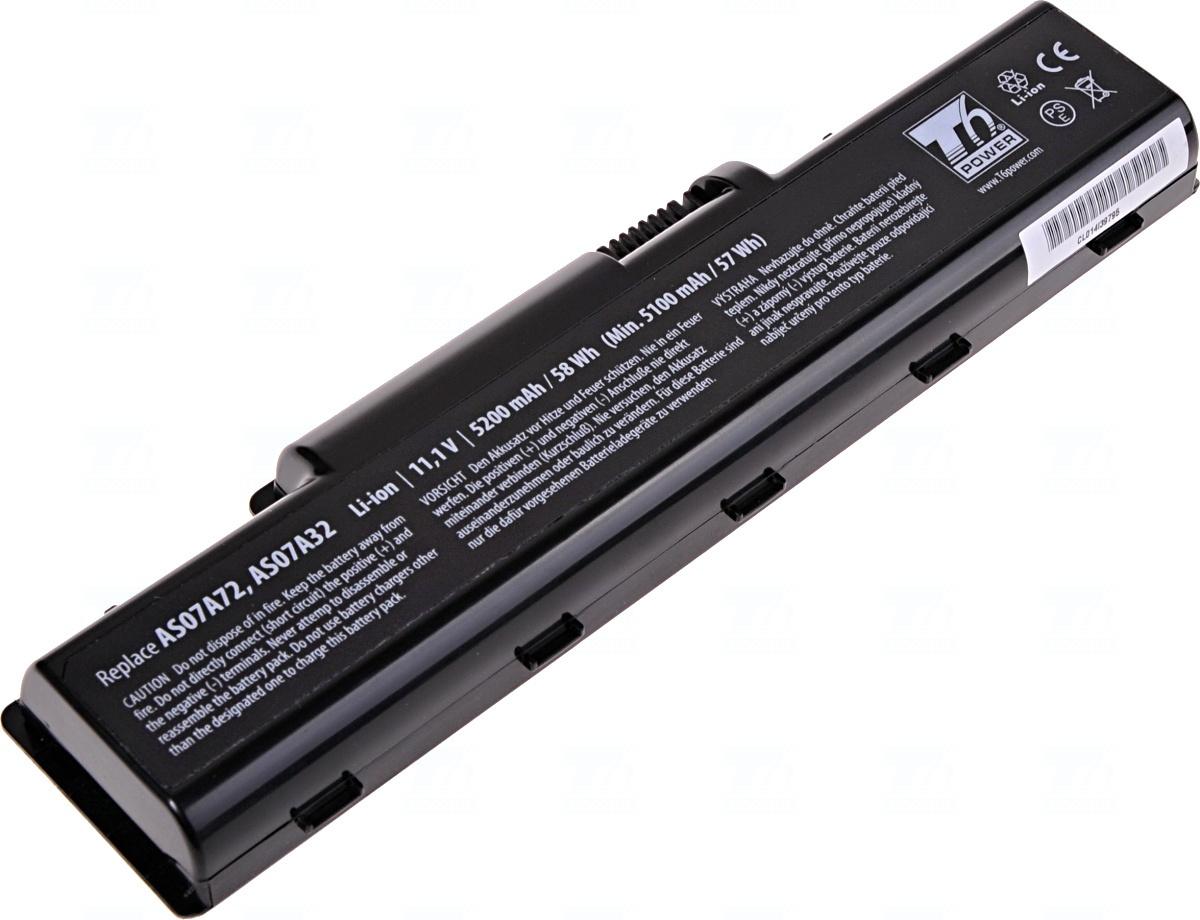 Baterie T6 power LC.AHS00.001, LC.BTP00.012, AS07A31, AS07A32, AS07A41, AS07A42, AS07A51, AS07A52, AS07A71, AS07A75, BT.00603.036, BT.00604.022