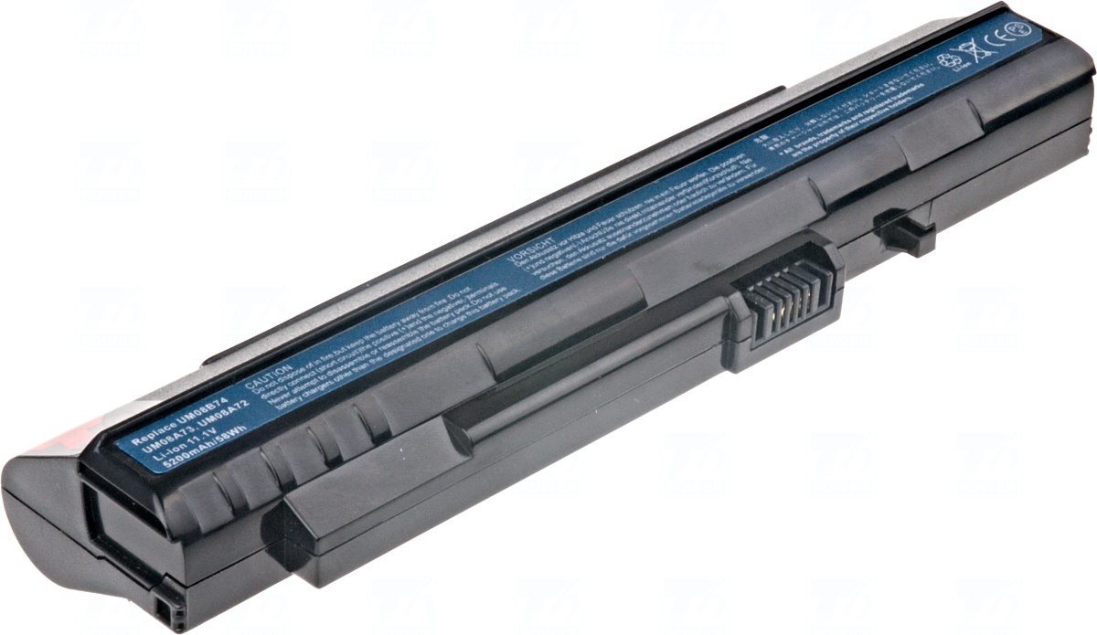 Baterie T6 power LC.BTP00.017, UM08A72, UM08A73, UM08A74, UM08B72, UM08B73, UM08B74, BT.00607.042, BT.00607.039, UM08A51, LC.BTP00.046, UM08A32