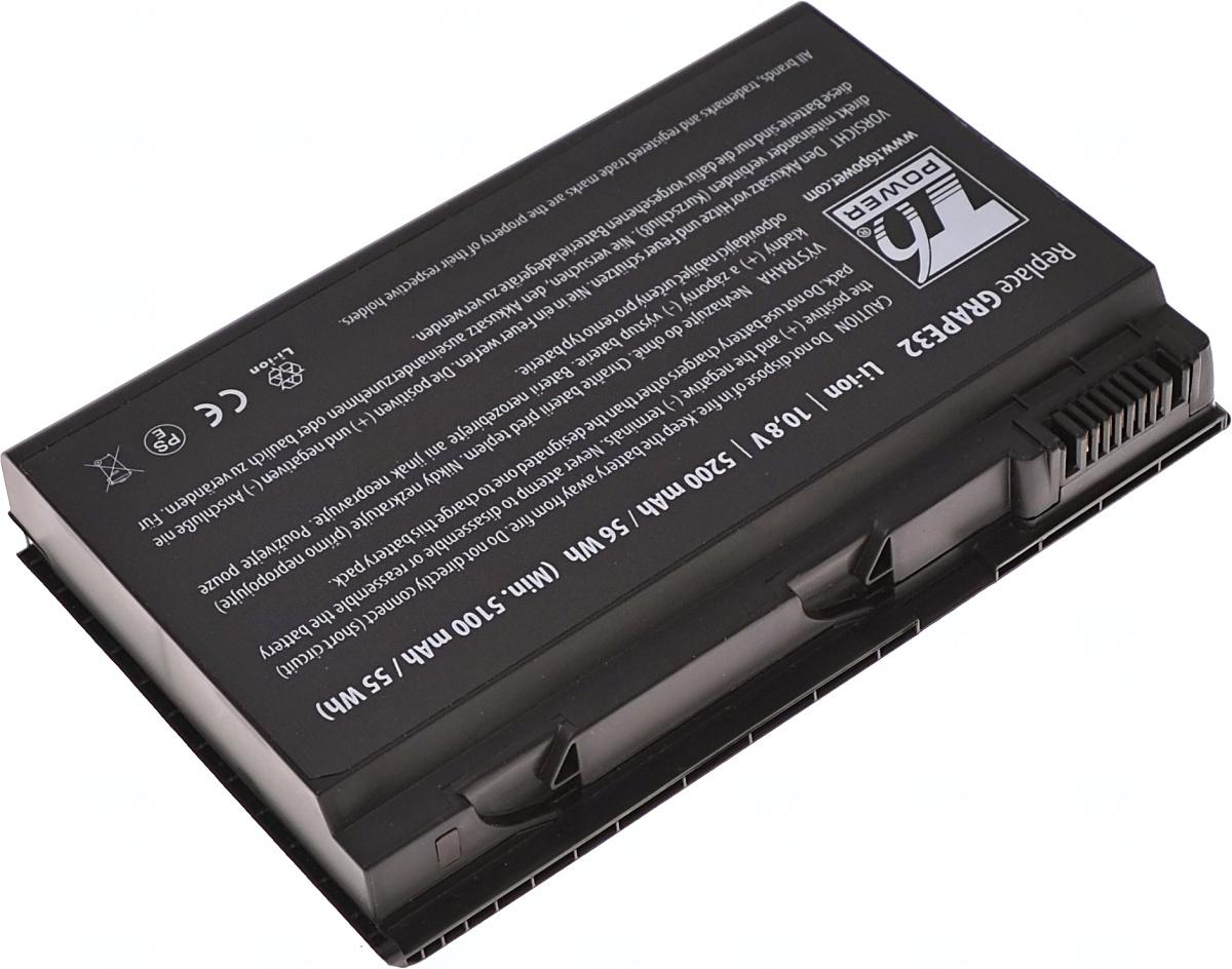 Baterie T6 power GRAPE32, LC.BTP00.005, TM00741, LC.BTP00.011, BT.00603.029, BT.00604.011, BT.00605.014, BT.00607.008, LC.BTP00.066