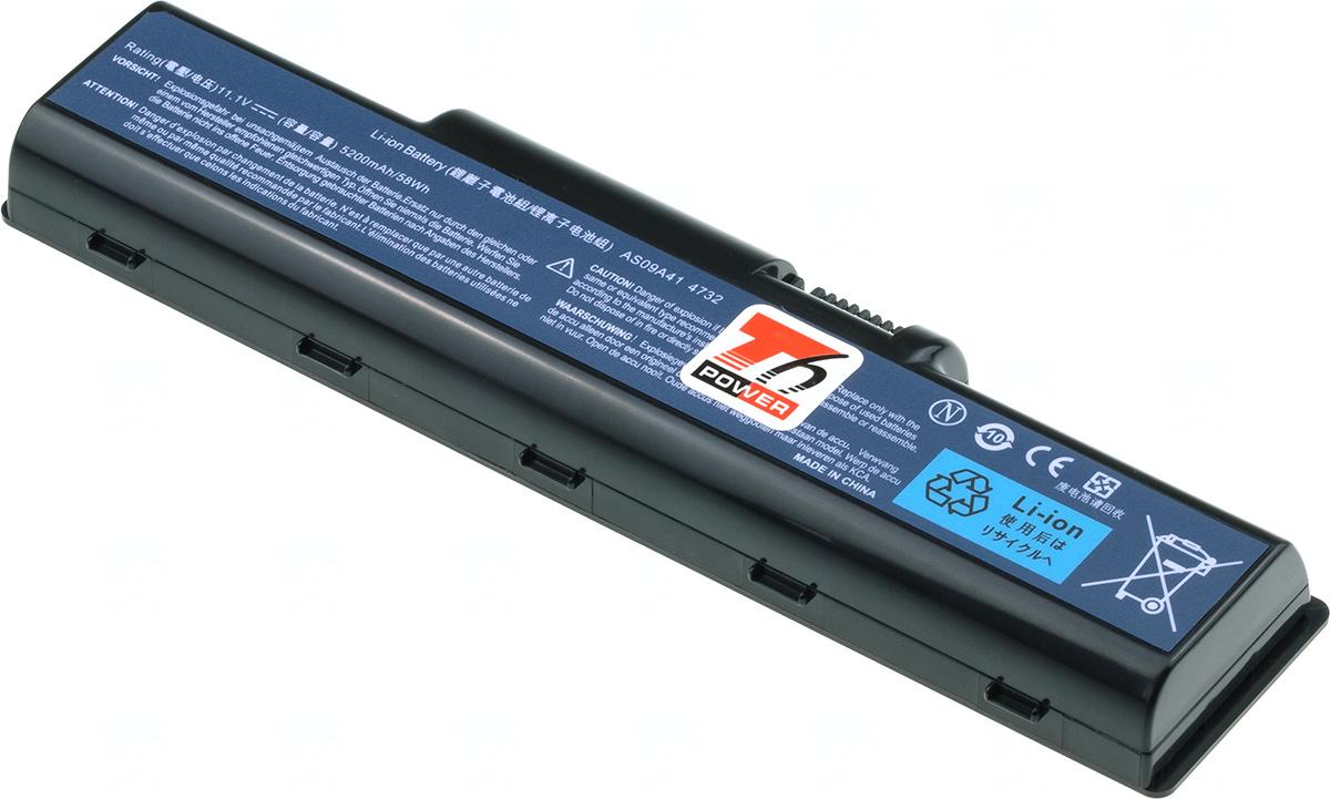Baterie T6 power AS09A31, AS09A51, AS09A71, AS09A91, AS09A61, AS09A41, AS09A56, AS09A75, AS09A70, AS09A73, BT.00603.076, AS09A90, BT.00605.036