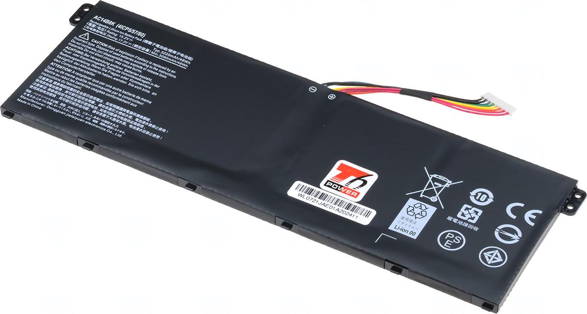 Baterie T6 power KT.00403.036, KT.00403.023, KT.00403.024, AC14B8K, AC14B3K, KT.0040G.002, KT.0040G.004, KT.0040G.005, KT.0040G.006, type B