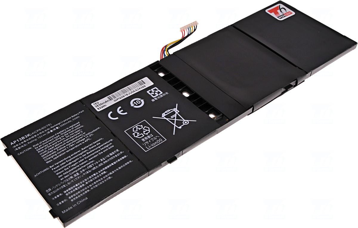 Baterie T6 power AP13B3K, KT.00403.015, KT.00403.018 KT.00403.035, AP13B8K