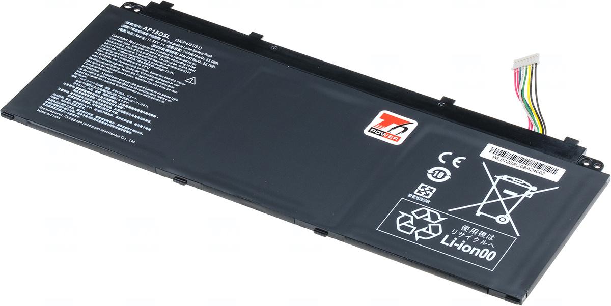 Baterie T6 power AP15O3K, KT.00303.023, AP15O5L, KT.00305.001, KT.00305.003, KT.00305.007, KT.00305.008