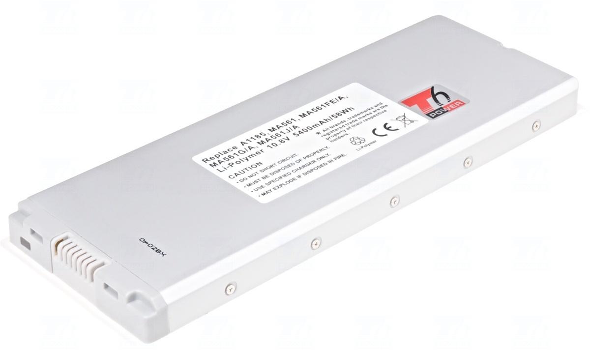 Baterie T6 power A1185, MA561FE/A, MA561G/A, MA561J/A, MA561