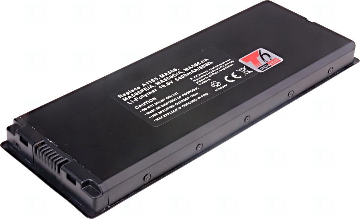 Baterie T6 power A1185, MA566FE/A, MA566G/A, MA566J/A, MA566