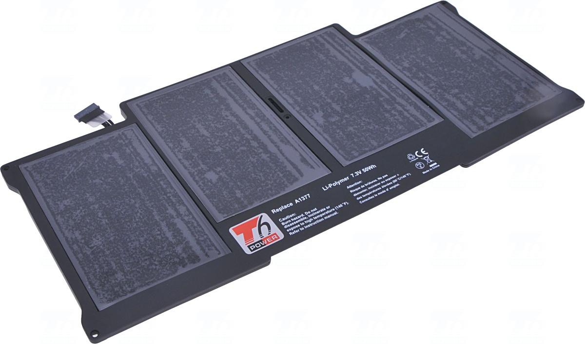 Baterie T6 power A1369, A1377, 661-5731, 020-7379-A