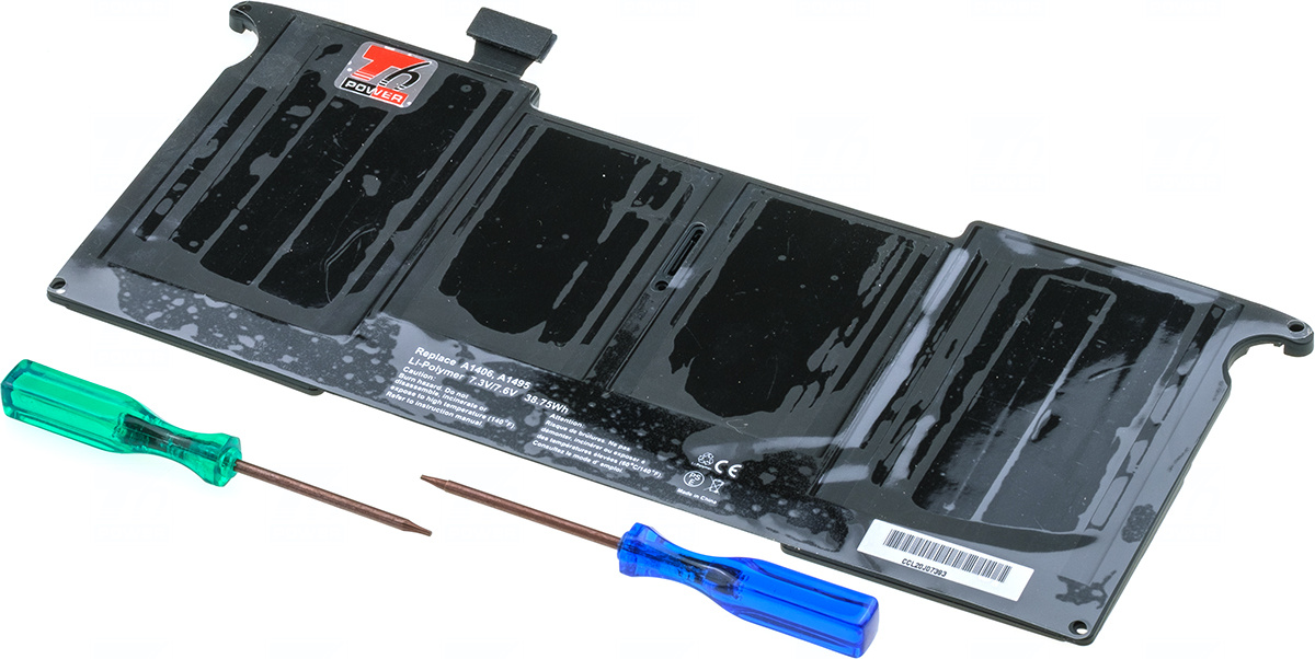 Baterie T6 power A1406, A1495, 020-7376-A, 020-7377-A, 661-7467