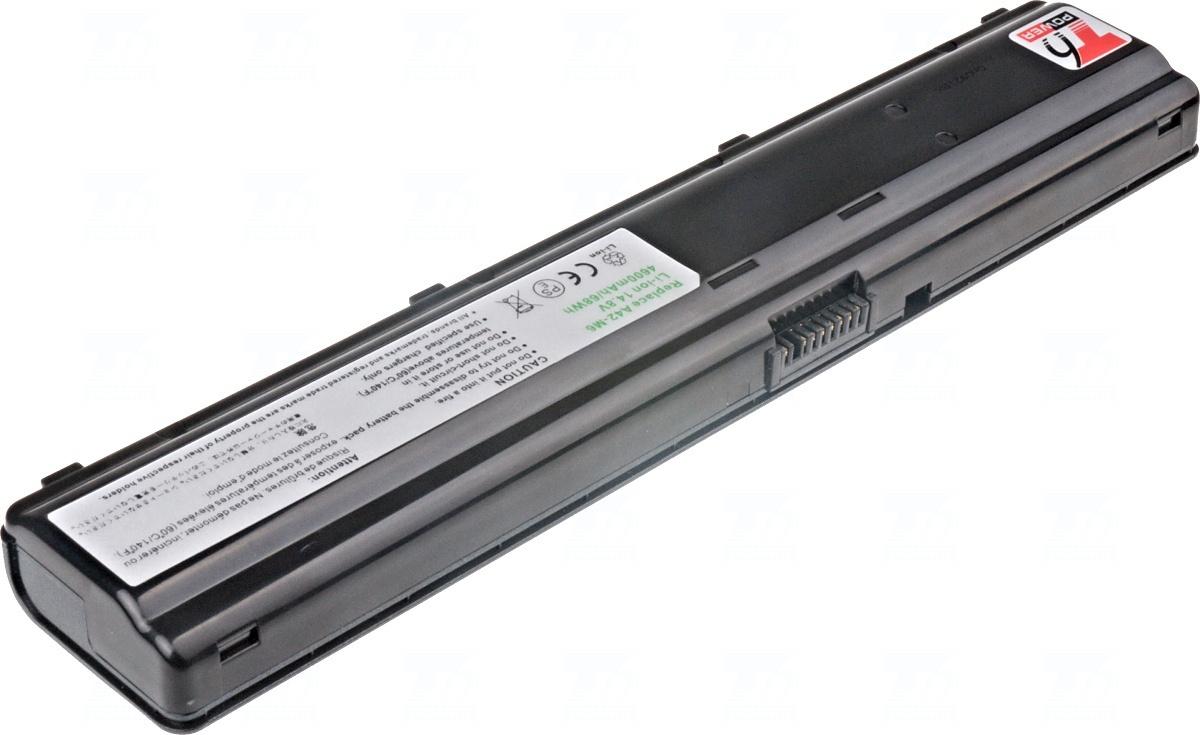 Baterie T6 power A42-M6, BPM6N, 70-N951B1005, 15-100360301, 90-N951B1000, 90-N951B1005, 90-N951B1100, 90-N951B1110, 70-N951B1004