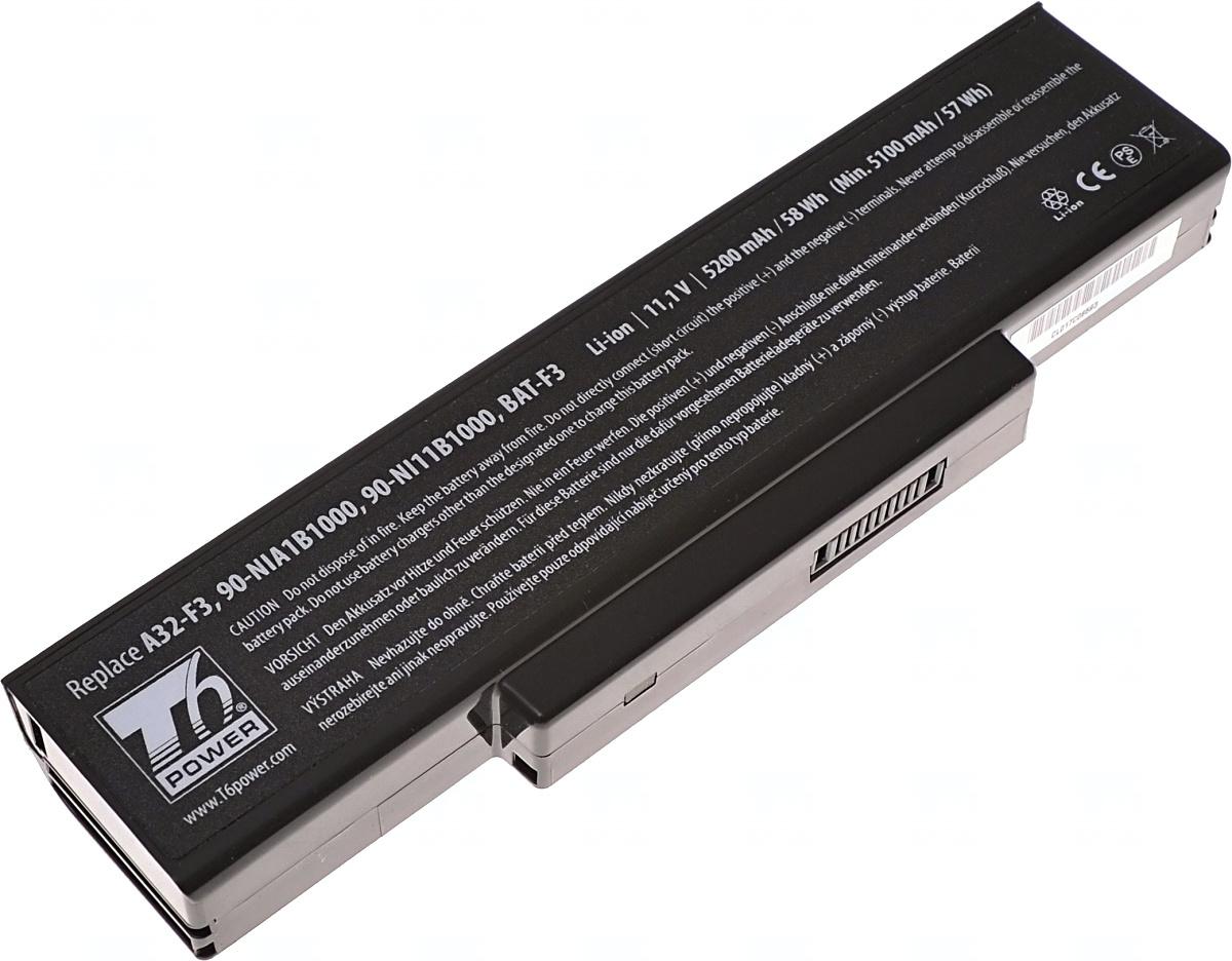 Baterie T6 power A32-F2, A32-F3, 90-NIA1B1000, 90-NI11B1000, BAT-F3