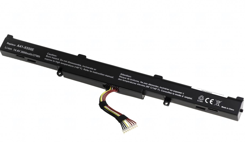Baterie T6 power A41-X550E, 0B110-00220000, 0B110-00220300, X55LM9H, 0B110-00220100, 0B110-00220200
