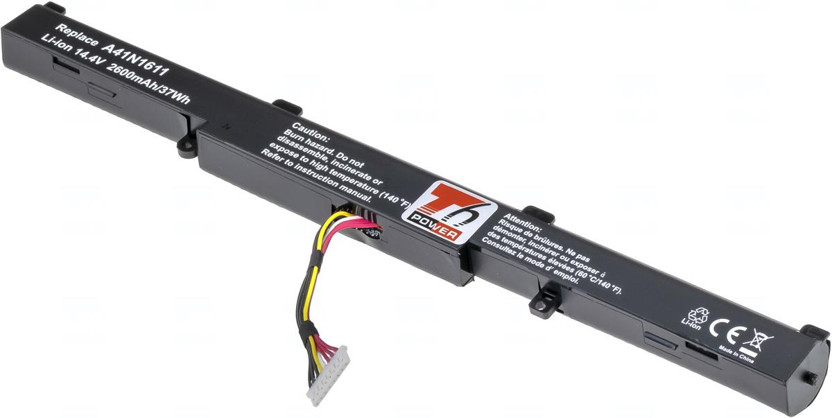 Baterie T6 power A41N1501, A41Lk5H, 0B110-00470000, A41N1611, 0B110-00360000, 0B110-00360100, 0B110-00470100