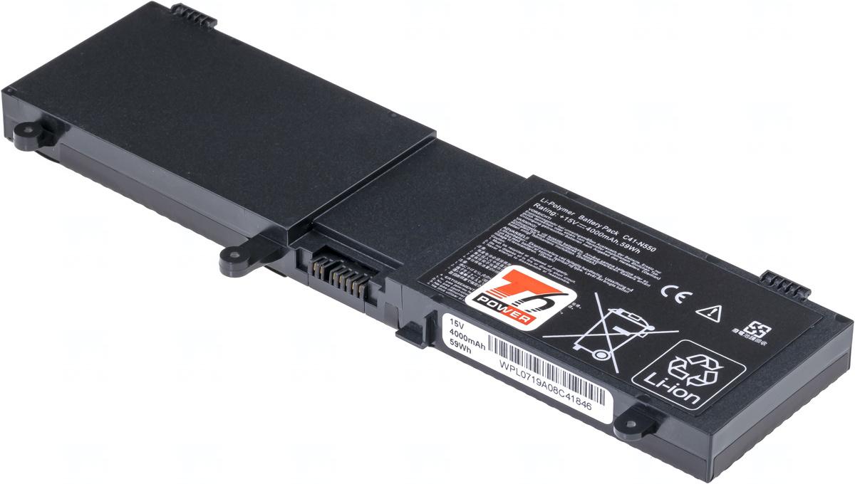 Baterie T6 power C41-N550, 0B200-00390000, 0B200-00390100