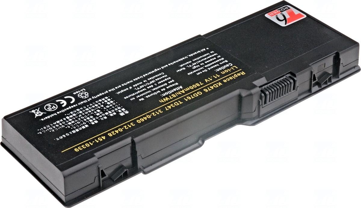 Baterie T6 power 312-0428, 312-0461, 312-0467, 312-0600, 451-10339, 451-10424, 451-10482, GD761, KD476, PD946, PR002, RD859, TD349, UD267, XU937