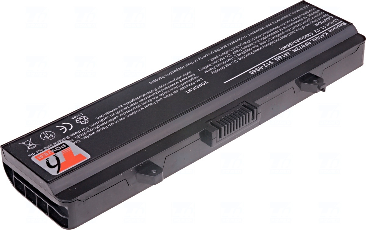 Baterie T6 power 312-0940, J414N, F965N, G558N, H416N, K450N, 0F972N, 0G558N