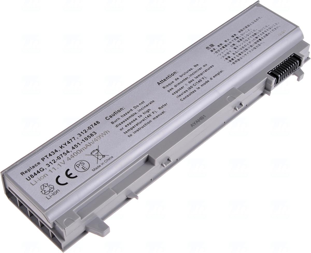 Baterie T6 power Basic 451-10583, 312-0748, 312-0917, 312-0753, FU268, FU272, KY266, KY466, NM632, PP27L, PT435, C719R, KY477, U844G