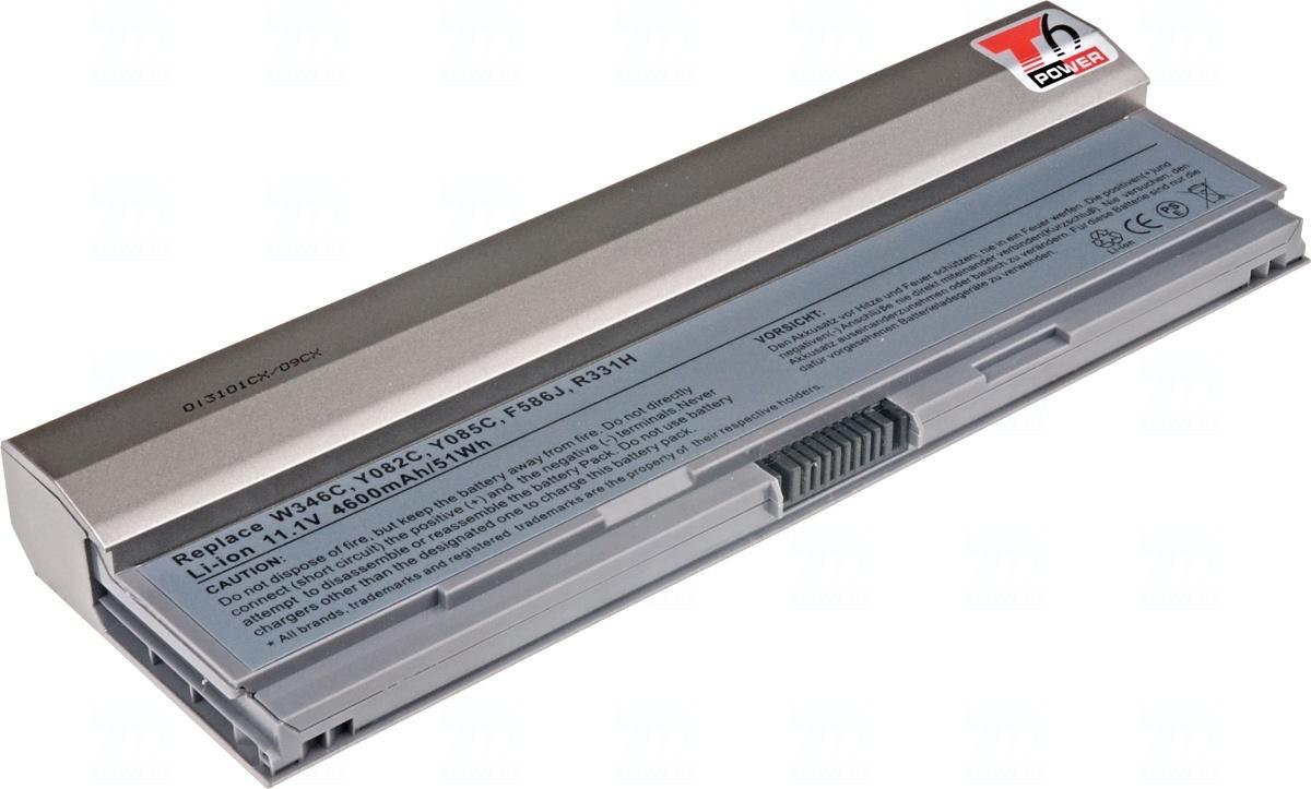 Baterie T6 power 451-10644, 312-0864, 453-10069, F586J, PP15S, R331H, R460C, R840C, R841C, U444C, W341C, W343C, W346C, X595C, X784C, Y082C, Y084C