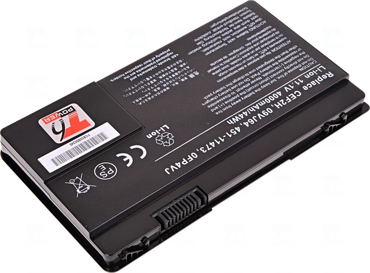 Baterie T6 power 451-11473, CEF2H, 09VJ64, 0FP4VJ