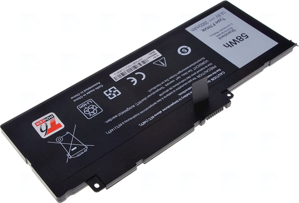 Baterie T6 power 451-BBEO, 451-BBEN, T2T3J, 89JW7, F7HVR, G4YJM, 062VNH, P36F, Y1FGD