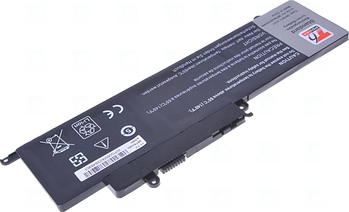 Baterie T6 power 451-BBKJ, 451-BBKK, GK5KY, RHN1C, 451-BBPG, 04K8YH, 092NCT, 0WF28, 92NCT, P20T