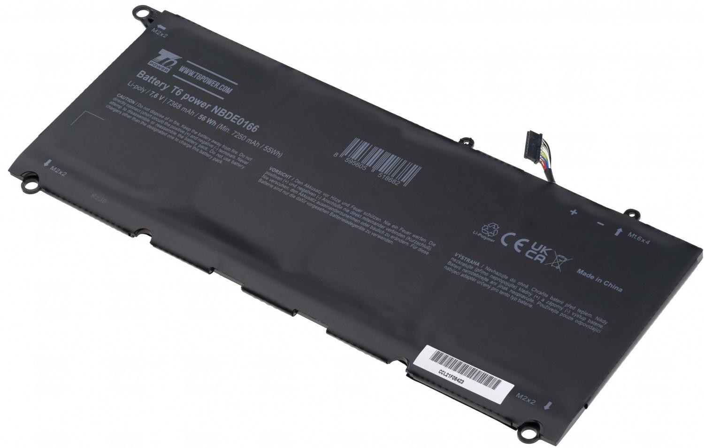 Baterie T6 power 5K9CP, RWT1R, 0DRRP, 0N7T6, 90V7W, DIN02, JD25G, P54G